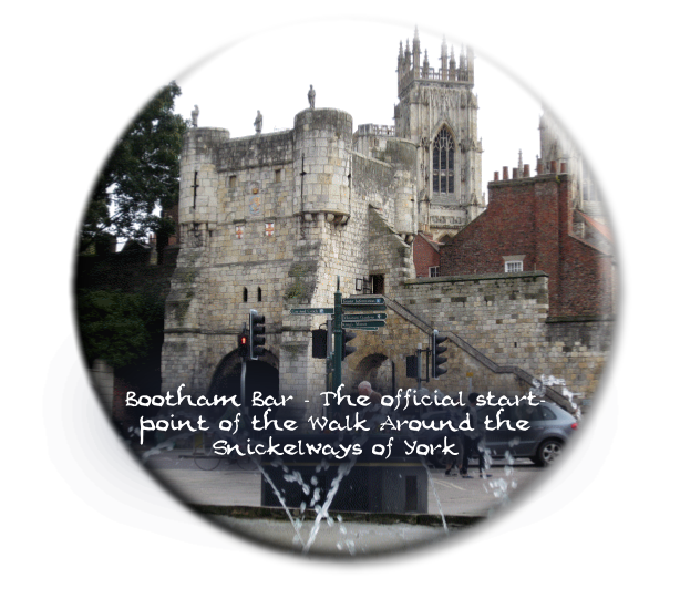 Bootham Bar - The official start-